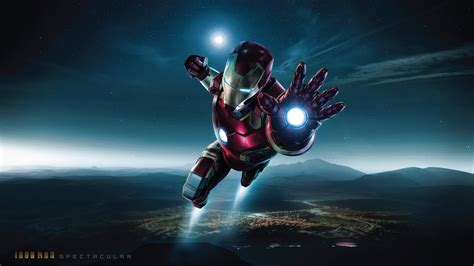 spectacular iron man superheroes wallpapers iron man