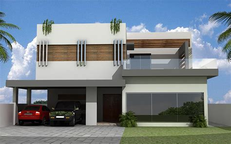 3d front elevation com new 1 kanal contemporary house 3d front elevation new home design house contemporary