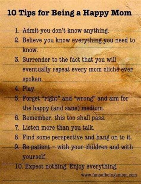 10 Tips On How To An by 10 Tips For Being A Happy Inspired Parenting