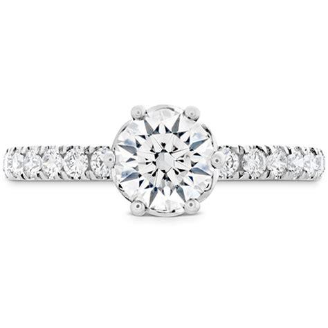 Dia Engagement Rings by Hof Signature Bezel Basket Engagement Ring Dia Band