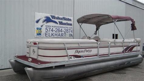 pontoon boats for sale elkhart in aqua 240le boats for sale in elkhart indiana