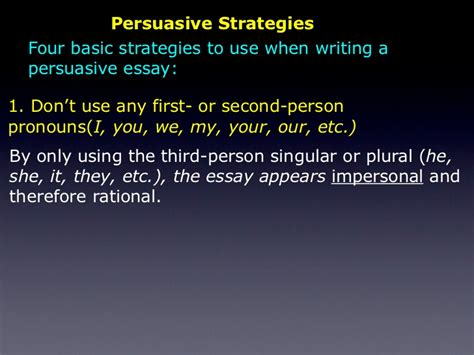 how to write a paper in third person about yourself writing a essay in third person