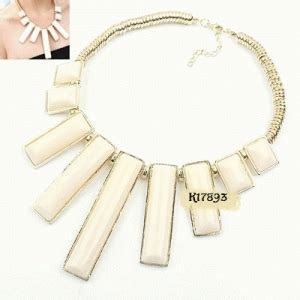 Gelang Cincin Clover Stainless Set Zircon Branded Fashion kalung pesta aksesories unik