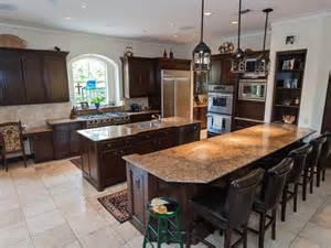 custom kitchen island cost eldiwaan double pictures large open thoroughly dominated multi part with