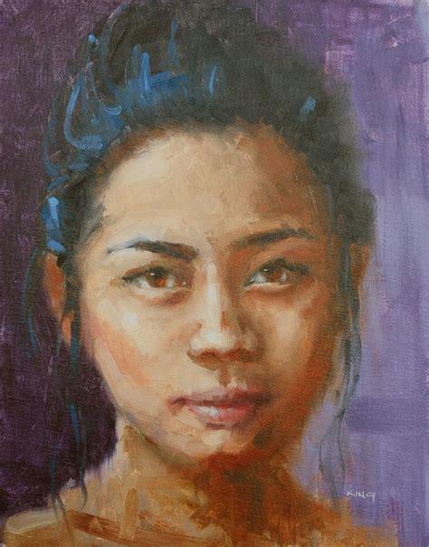 portrait painting painting portrait by michael king port coquitlam artist