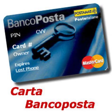 bloccare banco posta ruba tessera bancoposta in auto e preleva contanti