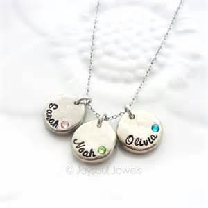 Custom Name Jewelry Dainty Personalized Birthstone Necklace Name Jewelry Joysoul Jewels