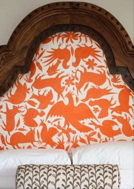 otomi headboard otomi headboard otomi fabric pinterest orange and