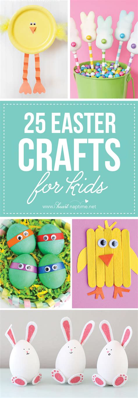 easter projects 25 easter crafts for kids i heart nap time