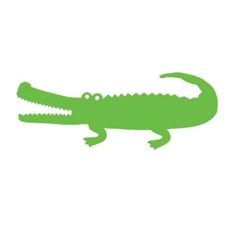 Cute Alligator Silhouette