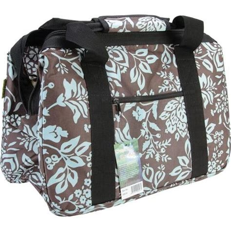 knitting bags and organizers new blue floral eco bag knitting bag tote sewing fabric