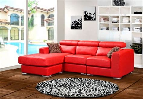 bright red leather sofa bright red leather sofa vg 4 sectional sofa bright red