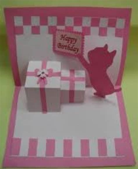 how to make a birthday card with paper birthday card diy ullas board