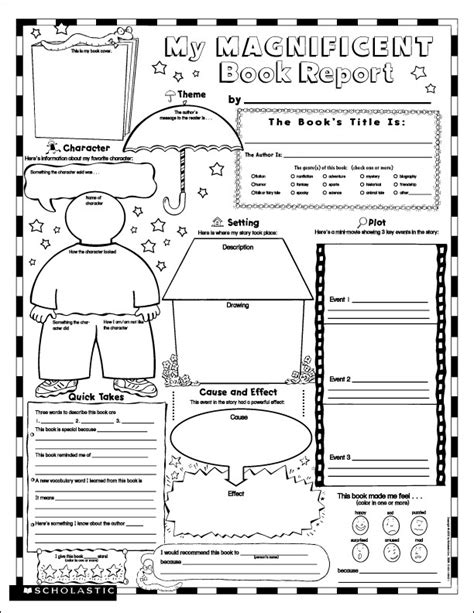 Country Report Template For Students Printable Book Report Many Students Don T Where To
