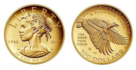 100 Gold Section 8 by Us Mint Commemorative 100 Gold Coin Features Black