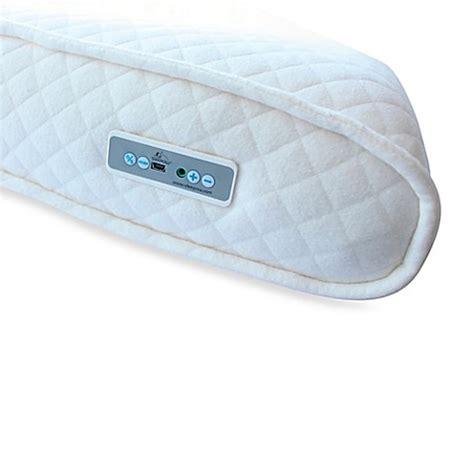 memory foam pillow bed bath and beyond sleepow memory foam pillow with sound machine and mp3