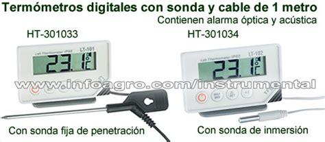 termometro de pincho  sonda  mostrador de alimentos  helados ht   ht