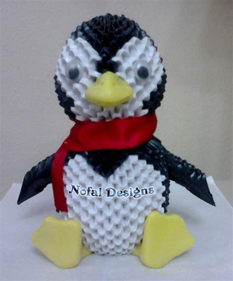 3d Origami Penguin - 3d origami penguin album mohammad nofal 3d origami