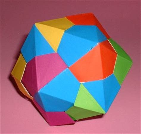 Origami 3d Shapes - origami geometric and other shapes page 2 of 3 gilad s
