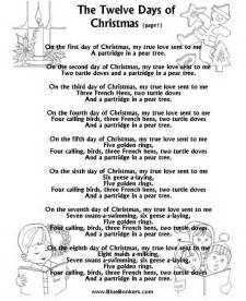 Lyrics 12 Days Of Christmas 5 Blind Boys » Home Design 2017