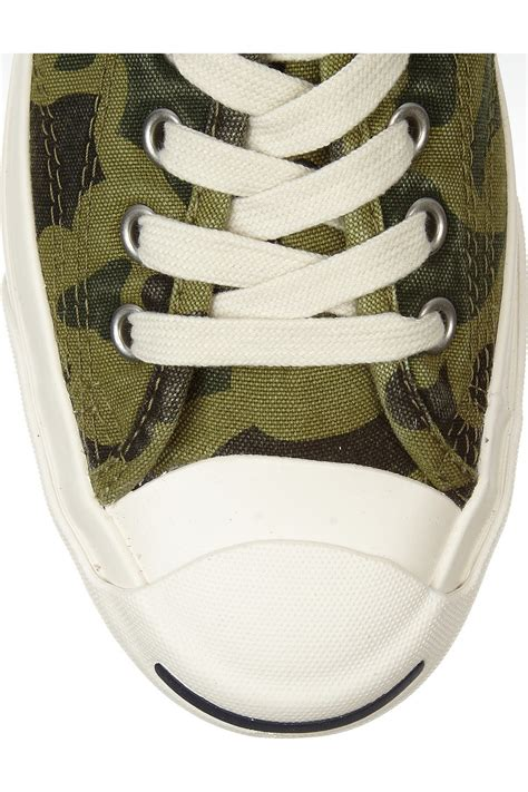 Converse Original Purcell Signature Ox Camo Casual Sneakers converse purcell camoprint canvas sneakers in green
