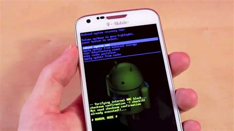 tutorial android recovery how to get to android system recovery on smart phone