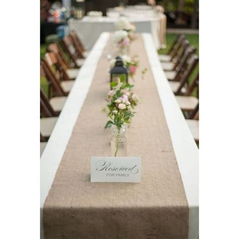 burlap table runner burlap table runner 13 x 90 premier table linens