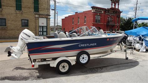 crestliner boats wisconsin crestliner boats for sale in oshkosh wisconsin
