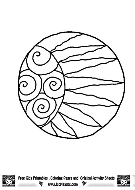 sun mandala coloring pages mandala moon and sun images