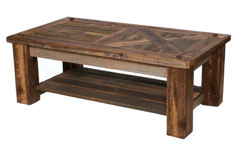 barnwood coffee table item 649nb barnwood barn door coffee table