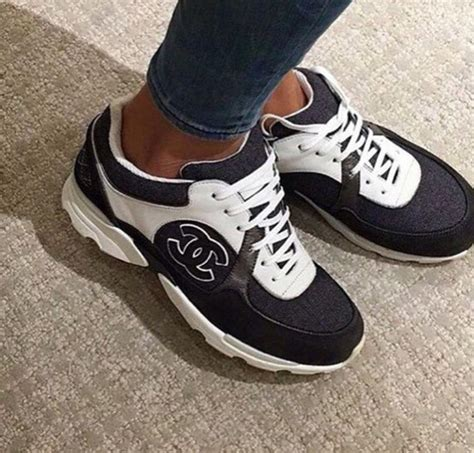 chanel mens trainer sneakers shoes chanel inspired trainers wheretoget