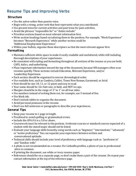 resume tips and improving verbs resume tips and improving verbs tips and improving verbs