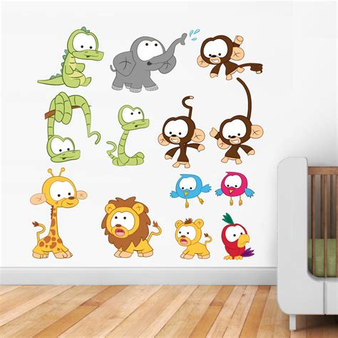 Child Friendly Animal Wall Decal For Nursery Tips Ideas Nursery Animal Wall Decals