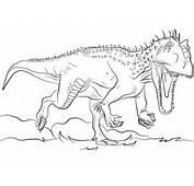 Dibujo De Indominus Rex Para Colorear  Dibujos