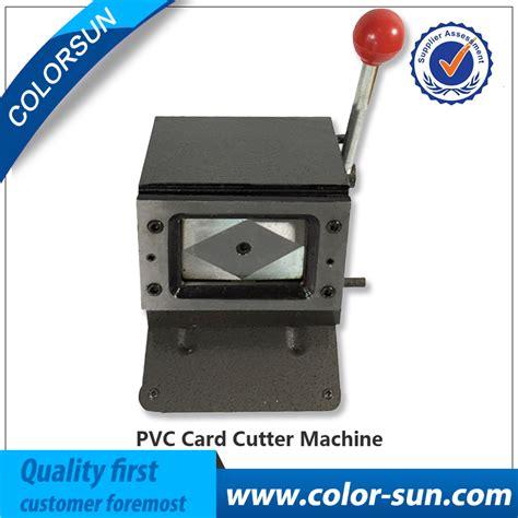 card cutting machines manual pvc card cutting machine for business name credit