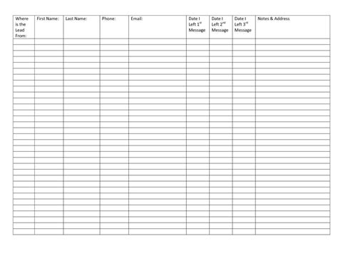Printable Spreadsheet Template Printable Spreadsheet Spreadsheet Templates For Busines Printable Printable Spreadsheet Template