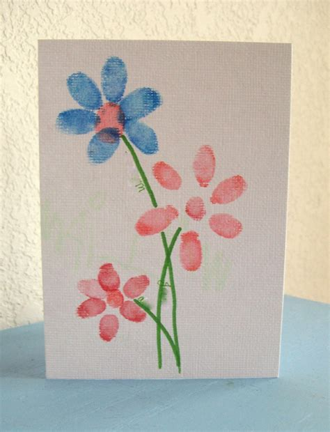 card crafts preschool crafts for s day fingerprint