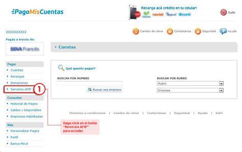 homebanking banco francs frances net afip administraci 243 n federal