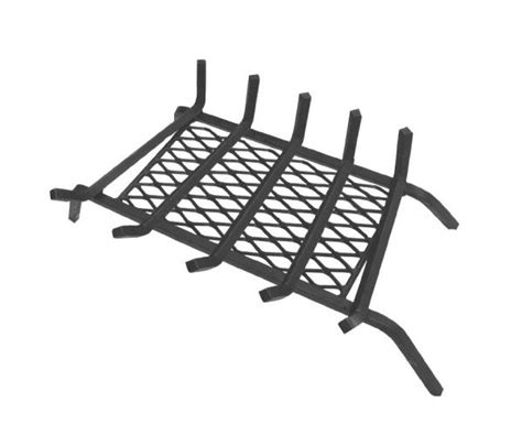 Fireplace Ember Retainer by Fireplace Grate With Ember Retainer Barbecuebible