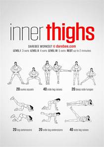 machine based workout routine inner thighs workout