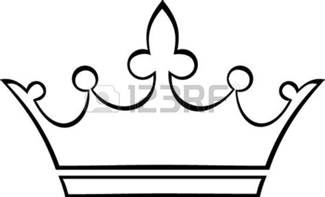 simple crown coloring page simple crown outline clipart panda free clipart images