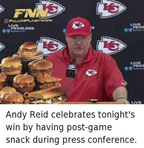 Andy Reid Meme - 25 best memes about andy reid football nfl and sports