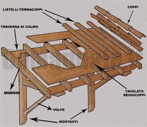 disegno tettoia in legno come costruire una tettoia in legno