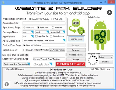 apk websites website 2 apk builder