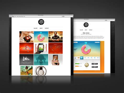 online portfolio layout design design portfolio bolchalk frey s blog