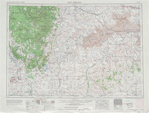 topographic maps of the united states springs topographic map sheet united states 1964