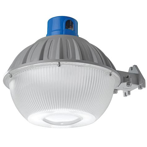 dusk to dawn outdoor lights home depot defiant high output dusk to dawn grey outdoor integrated
