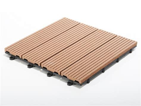 Wpc Bodenfliesen Klicksystem by Terrassenfliesen Set Timber Braun Menge W 228 Hlbar 11
