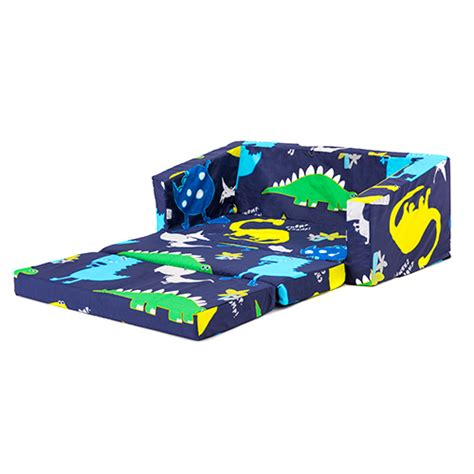 fold up couch for kids dinosaurs kids flip out lily sofa bed sleep over fold