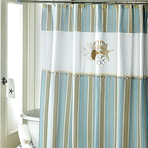 by the sea shower curtain avanti by the sea 72 inch x 72 inch shower curtain bed